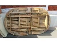 Wooden garden table top