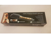 Brand new Hair straightener brush