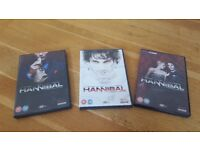 HANNIBAL Series 1, 2 and 3 DVD
