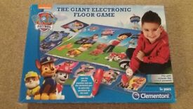 Secret Life of Pets and Paw Patrol Giant Electronic Floor Games