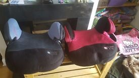 pink or blue booster seat £5 each