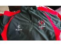 Ulster rugby fleece size medium