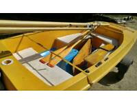 Sailing boat Skipper with road trailer