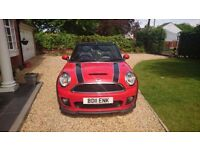 Mini Cooper SD Convertible with JCW body Kit, Sport Pack, Chilli Pack, Harman Kardon £6,500 extras
