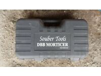Used Souber Tools DBB Morticer