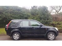 HONDA CRV AUTOMATIC STATION WAGON, 53 REG, HALF LEATHER, MOT, HPI CLEAR, FULLY SERVICED, DRIVES MINT
