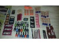 Selection of cosmetics brand new unused rimmel