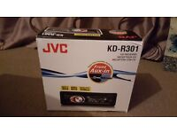 Car Stereo - JVC KD-R301. PERFECT CONDITION, LIKE NEW.