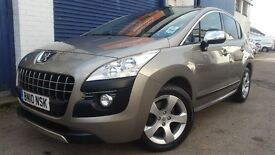 2010 PEUGEOT 3008 EXCLUSIVE GREY 1.6 LOW MILEAGE IMMACULATE CONDITION