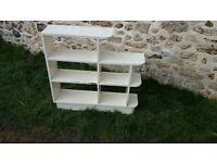 1960s white box shelving