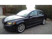 REALLY SUPER VOLVO S40 2,4 V6 AUTOMATIC, BRAND NEW MOT, BLACK METALLIC WITH FULL GREY LEATHER