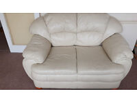 Leather sofas for sale 3+2
