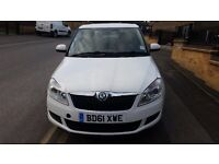 2012 (0n 61 plates) skoda fabia quick sale clean in and out drive spot on long mot