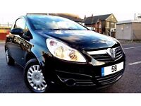 2008 VAUXHALL CORSA 1.3CDTI, � 30 TAX ONLY 75000 MILES, 3 MONTH WARRANTY+P/X WELCOME