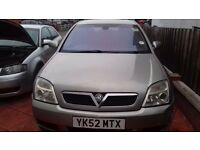 FOR SALE VAUXHALL VECTRA 52 PLATE IN GOOD CONDITION