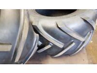 Pair Lawn tractor/Atv tyre