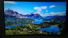 Panasonic 55 inch curved 4k (hdr) tv