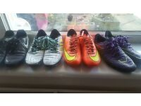 Football boots & astroturs sizes 5.5 to 6.5