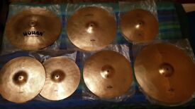 Drum Cymbals for Sale - Full Set (Quick sale)