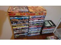 LARGE JOB LOT OF 66 DVDS
