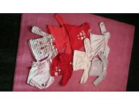 baby girl 3-6 months clothing bundle