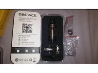 OBS Ace V2 Ceramic Coil Tank Genuine Not Crius RTA