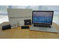 2013 15 Retina Macbook Pro i7 2.6Ghz 16GB RAM 512GB SSD 2GB Nvidia 750M GPU AST1