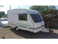2 Birth Classic Silhouette Caravan