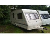 caravan bailey ranger 460/2, two berth, year 1998, very good condition, with full awning