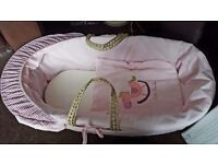 Brand New Moses Basket Never Used