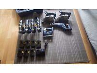 Tool set , drill ,fretsaw, etc