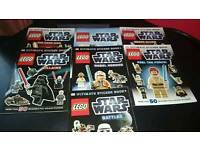 Star wars sticker albums