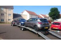 2 CAR TRANSPORTER TRAILER 3500kg RECOVERY 7.1m x 2m Bed