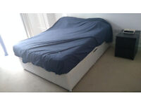 Super comfortable King size bed (very firm mattress)