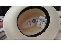Panama Hat - Drop brim panama, large size