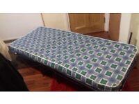 z bed single folding type