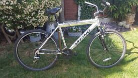 VIKING MAELSTROM,ALLOY FRAME,WAS A 21 SPEED,CABLE SEIZED QUICK RELEASE WHEELS