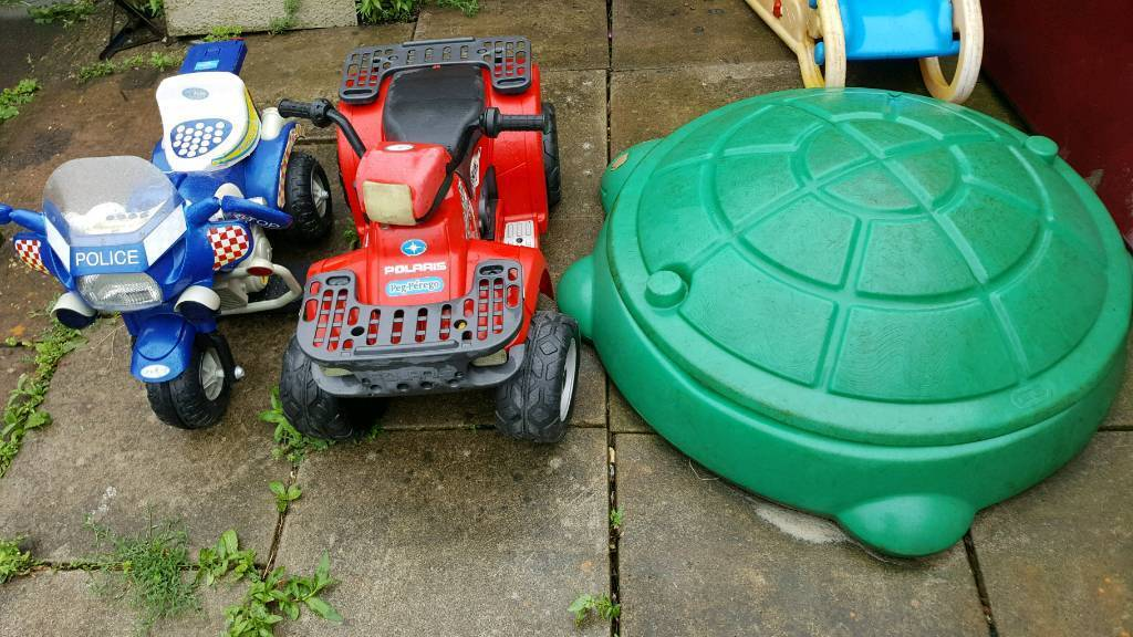 I have to sell toys for kids and a bike for all £ 30