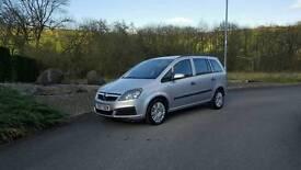 Vauxhall zafira 1.9 cdti diesel 7 seater lo