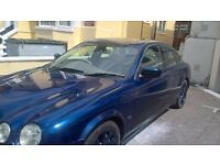 jaguar s type for sale blue 4 door saloon