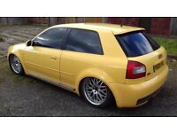 Audi S3 1999 on airbags + jabbersport remap