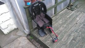 Child bike rear seat