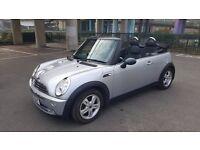 Silver Convertible Mini in great condition. 1.6 Petrol. £1995 ono