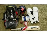 Childs cricket kit
