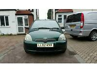 Toyota yaris CDX auto 5 doors green 88683 miles with FSH and MOT.