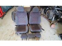 Vauxhall Corsa C / Combo Front Seats / Interiors