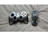 Logitech Gamepad & Energizer charger