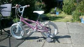 "Fairies 14 "" bike for kids"