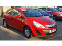 2011 Vauxhall Corsa 1.0 ecoFLEX 3 Door + Full Vauxhall Service History + 1 Owner + Hpi Clear