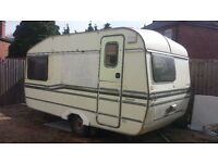 Scrap Caravan FREE. used for storage